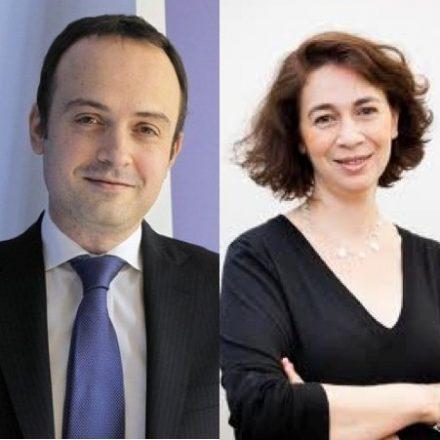 Yannick Carriou DG d'Ipsos Media CT Monde, Dominique Lévy-Saragossi DG d'Ipsos France