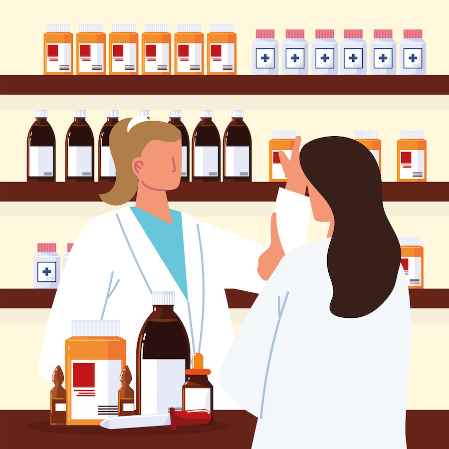 Etude Arcane Biomedicaments et pharmaciens