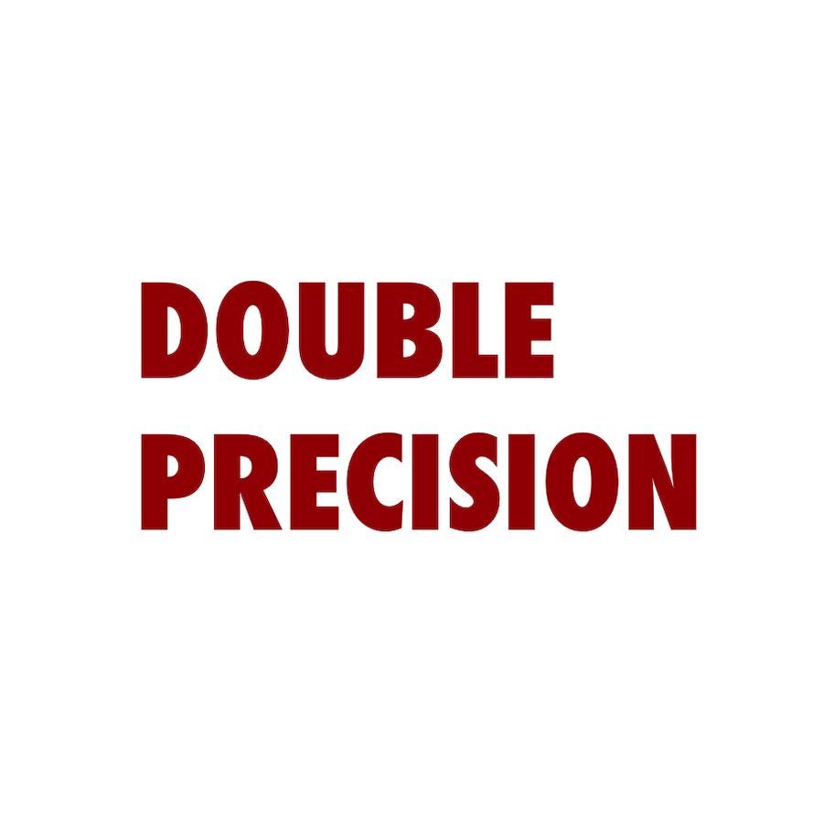 logo Double Precision traitement données etudes marketing